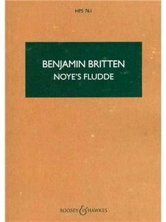Benjamin Britten: Noye's Fludde Op.59 (Study Score) Books | Score