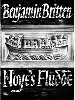 Benjamin Britten: Noye's Fludde (Vocal Score) Books | Opera