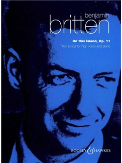 Benjamin Britten: On This Island Books | High Voice, Piano Accompaniment