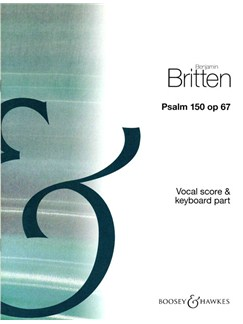 Benjamin Britten: Psalm 150 Op. 67 Books | 2-Part Choir, Piano Accompaniment