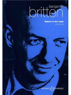 Benjamin Britten: Rejoice In The Lamb Livre | SATB, Accompagnement Orgue