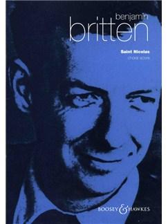 Benjamin Britten: Saint Nicolas Op.42 Choral Score Books | SATB