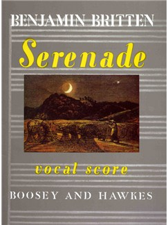 Benjamin Britten: Serenade (Vocal Score) Books | Voice, Piano Accompaniment