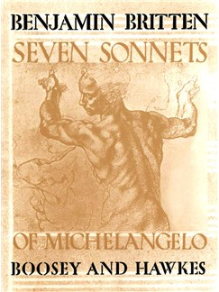 7 Sonnets Of Michaelangelo Books | Voice, Piano Accompaniment