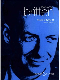 Benjamin Britten: Cello Sonata In C Op. 65 Books | Cello, Piano Accompaniment