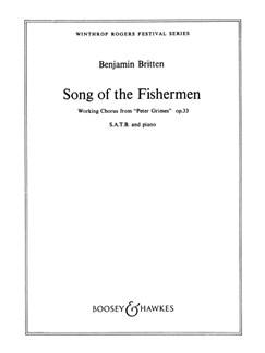 Benjamin Britten: Song Of The Fisherman Books | SATB, Piano Accompaniment