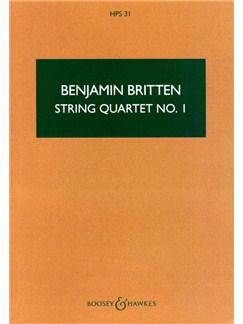 Benjamin Britten: String Quartet 1 Books | String Quartet