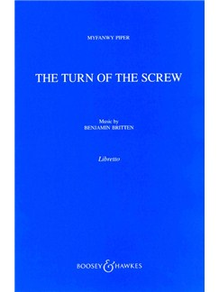 Benjamin Britten: Turn Of The Screw (Libretto) Books | Libretto