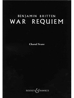 Benjamin Britten: War Requiem Op.66 (Choral Score) Books | SATB