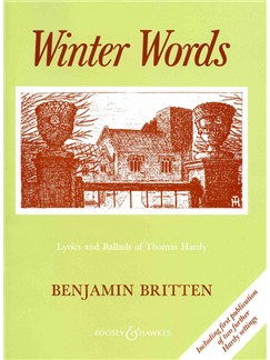 Benjamin Britten: Winter Words Op.52 Books | High Voice, Piano Accompaniment
