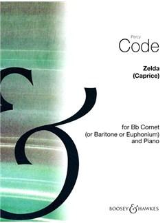 Percy Code: Zelda (Caprice) Books | Cornet, Baritone, Piano Accompaniment