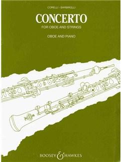 John Barbirolli/Corelli: Concerto For Oboe And Strings (Oboe/Piano) Books | Oboe, Piano Accompaniment