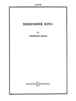 Frederick Delius: Midsummer Song Books | SSAATTBB, Piano Accompaniment