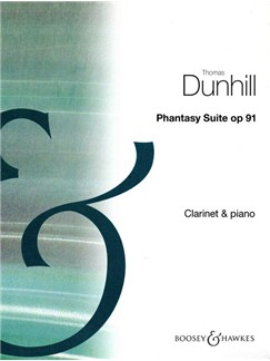 Thomas Dunhill: Phantasy Suite Books | Clarinet, Piano Accompaniment