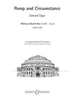 Edward Elgar: Pomp And Circumstance (Military March No.1 In D) Op.39 Books | Organ