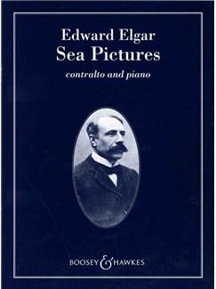 Edward Elgar: Sea Pictures Op.37 Books | Alto, Piano Accompaniment