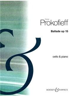 Ballade Op15 Books | Cello, Piano Accompaniment