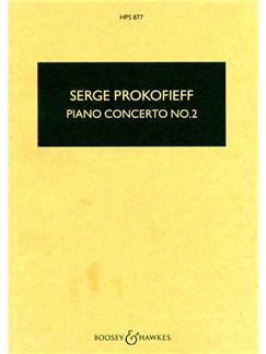 Sergei Prokofiev: Piano Concerto No.2 In G Minor Op.16 (Study Score) Books | Piano, Orchestra