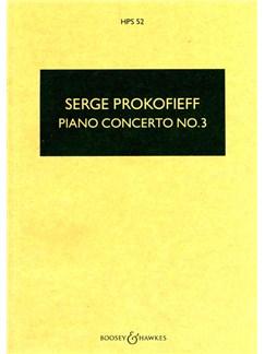 Serge Prokofieff: Piano Concerto No.3 In C Op.26 Books | Orchestra