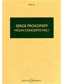 Sergei Prokofiev: Violin Concerto No.1 In D Op.19 (Study Score) Books | Violin, Orchestra