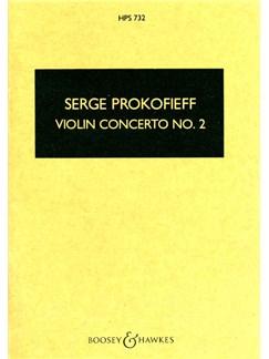 Sergei Prokofiev: Violin Concerto No. 2 (Study Score) Books | Violin, Orchestra