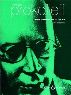 Sergei Prokofiev: Violin Concerto No.2 (Violin And Piano) Books   Violin, Piano Accompaniment