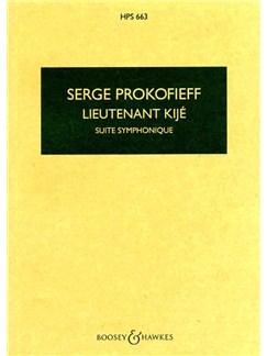 Serge Prokofieff: Lieutenant Kije Suite Op. 60 Books | Orchestra