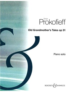 Serge Prokofieff: Old Grandmother's Tales Op.31 Books | Piano