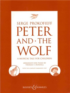 Sergei Prokofiev: Peter And The Wolf Op.67 (Piano) Books | Piano