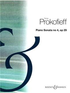 Sergei Prokofiev: Piano Sonata No.4 Op.29 Books   Piano