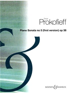Sergei Prokofiev: Piano Sonata No.5 In C Op.38 Books | Piano