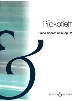 Serge Prokofieff: Piano Sonata No. 6 In A Op82 Books | Piano