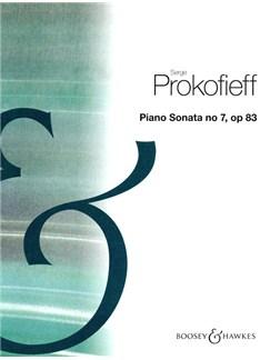 Serge Prokofieff: Piano Sonata No.7 In B Flat Op.83 Books | Piano