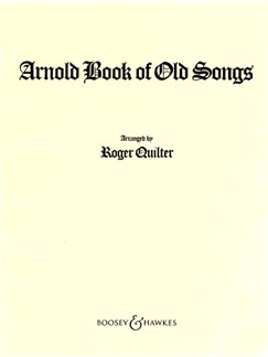 Arnold Book Of Old Songs Books | Voice, Piano Accompaniment