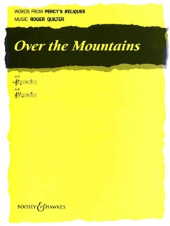 Roger Quilter: Over The Mountains (In G) Books | Voice, Piano Accompaniment