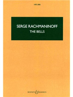 Sergei Rachmaninov: The Bells Op.35 (Study Score) Books | Soprano, Tenor and Baritone Soloists, SATB Choir, Orchestra