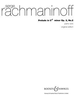 Sergei Rachmaninoff: Prelude In C Sharp Minor Op.3 No.2 Books | Piano