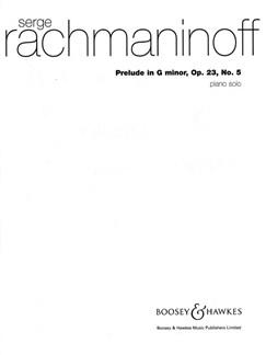 Prelude In Gm Op23/5 Books | Piano
