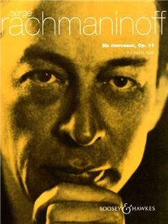 Sergei Rachmaninov: 6 Morceaux Op.11 Books | Piano Duet