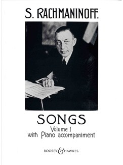 Sergei Rachmaninov: Songs With Piano Accompaniment Volume 1 Books | Voice, Piano Accompaniment
