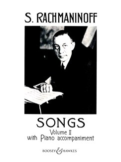 Sergei Rachmaninov: Songs Volume Two Books | Voice, Piano Accompaniment
