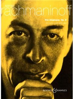 Serge Rachmaninoff: Trio Elegiaque Op.9 For Piano, Violin And Cello Books | Piano Trio