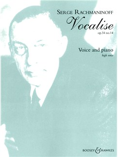Sergei Rachmaninov: Vocalise Op34 No.14 Books | High Voice, Piano Accompaniment