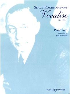 Sergei Rachmaninov: Vocalise Op.34 No.14 (Piano Solo) Books | Piano