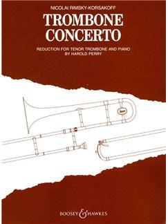 Nicolay Rimsky-Korsakov: Trombone Concerto (Trombone/Piano) Books | Trombone, Piano Accompaniment