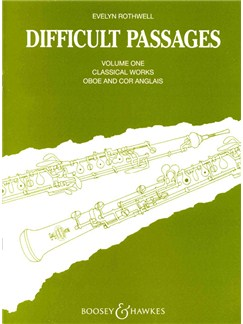 Difficult Passages For Oboe 1 Books | Oboe