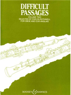 Difficult Passages For Oboe 2 Books | Oboe