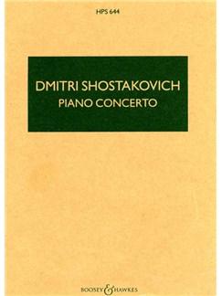 Dmitri Shostakovich: Piano Concerto Books | Piano, Trumpet, String Orchestra