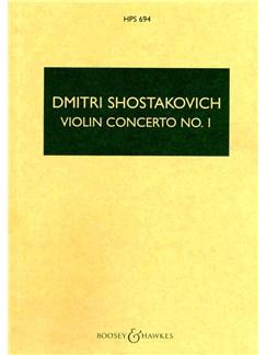 Dmitri Shostakovich: Violin Concerto No.1 In A Minor (Revised) Op.99 (Study Score) Books | Violin, Orchestra