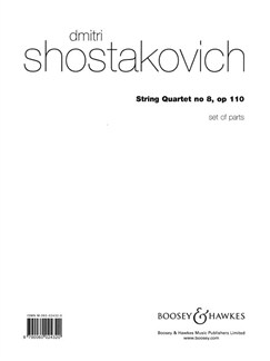 Dmitri Shostakovich: String Quartet No.8 Op.110 (Parts) Books | String Quartet